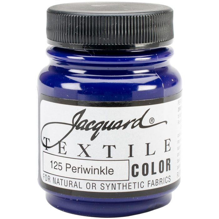 Jacquard Textile Color Fabric Paint 2.25oz Periwinkle