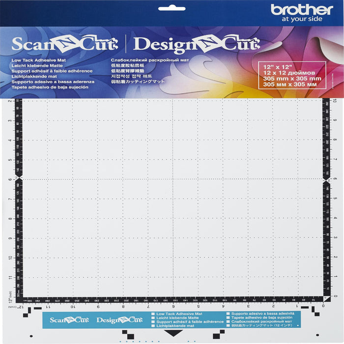 Brother ScanNCut Low Tack Mat Low Tack 12inX12in