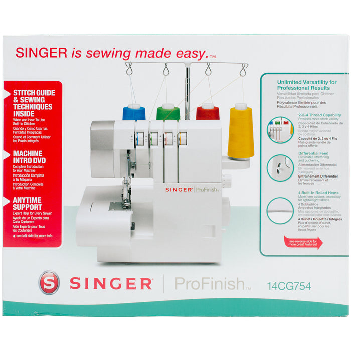 Singer Serger Overlock Machine 14CG754