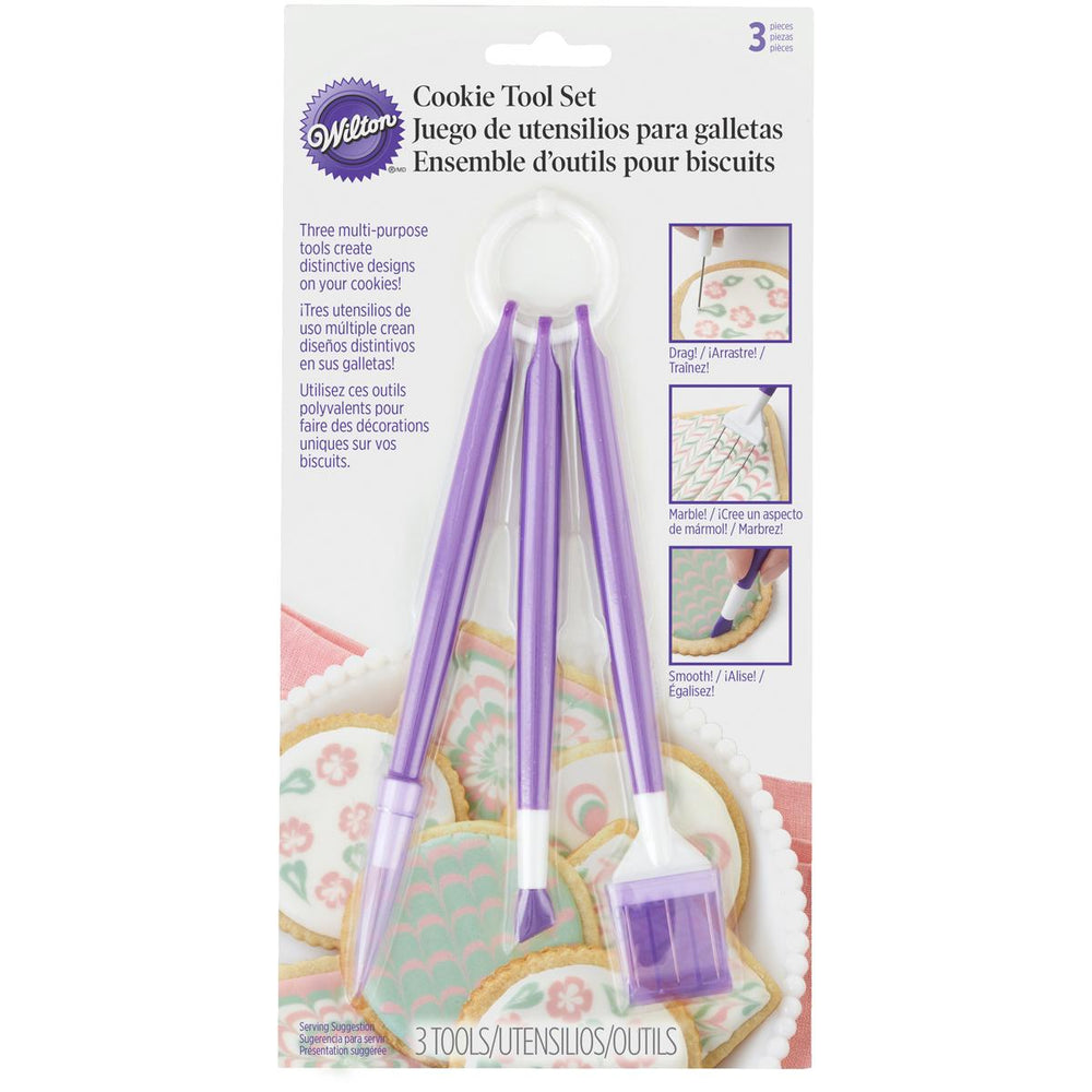 Cookie Decorating Tool Set 3pc-