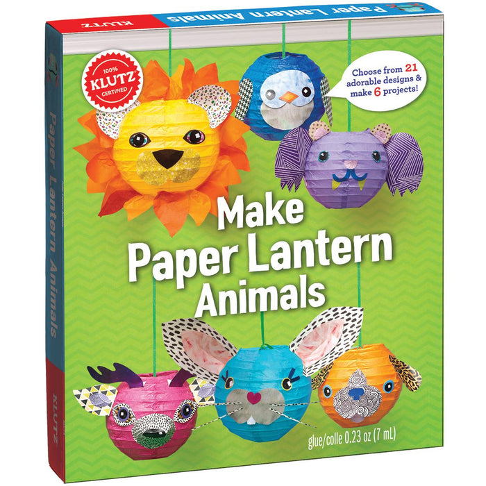 Make Paper Lantern Animals Kit-