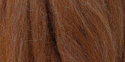 Natural Wool Roving Felt Caramel