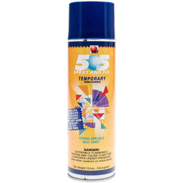 505 Spray  and  Fix Temporary Fabric Adhesive 12.4oz
