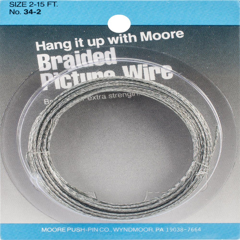 Braided Picture Wire 15'-
