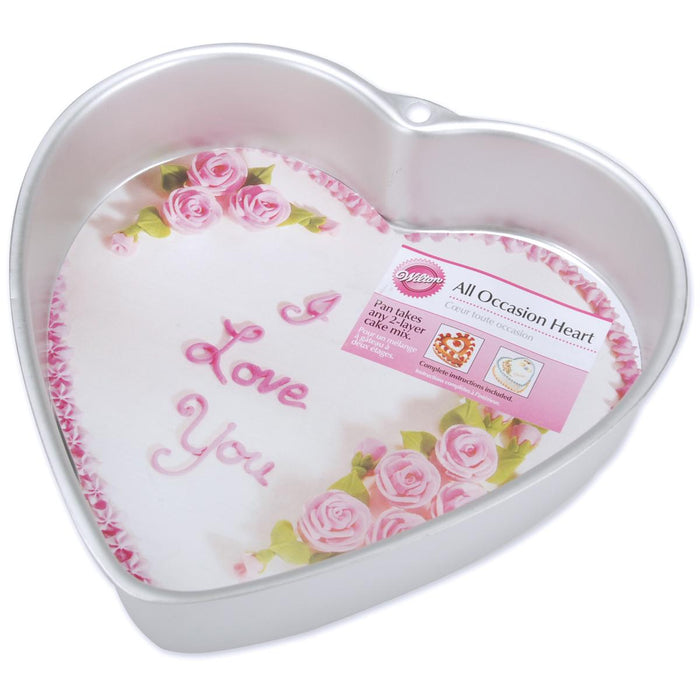 Cake Pan All Occasion Heart 9inx2in