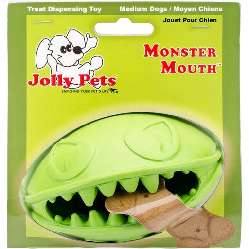 Monster Mouth Ball-Green 4""