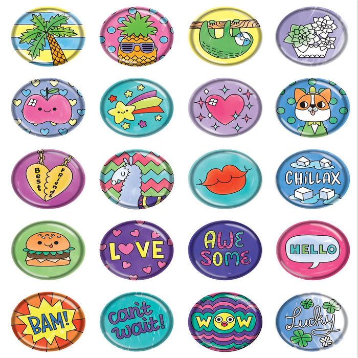 Make Your Own Puffy Stickers-