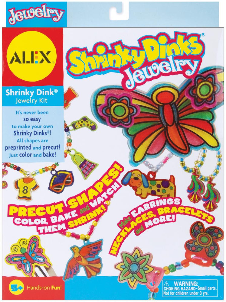Shrinky Dinks Kit-Jewelry