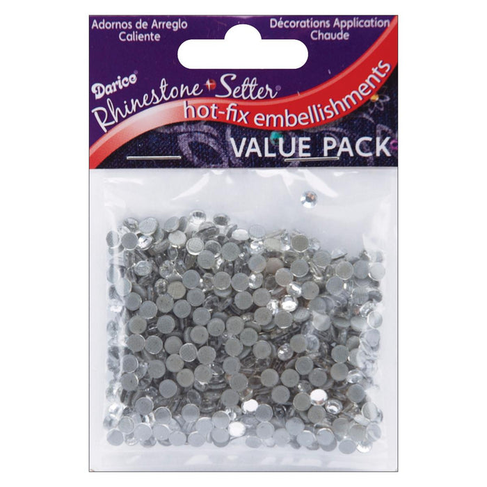 Hot-Fix Embellishments 4mm Crystal
