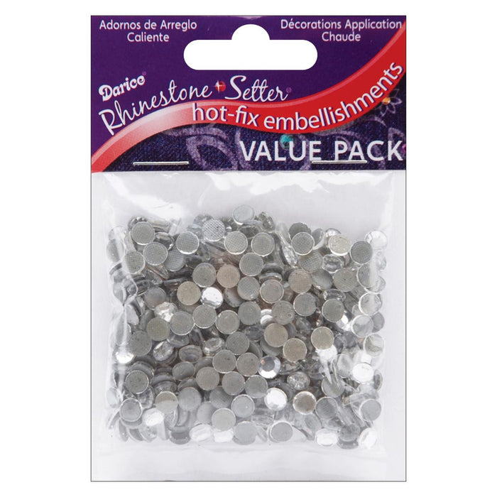 Hot-Fix Embellishments 5mm Crystal