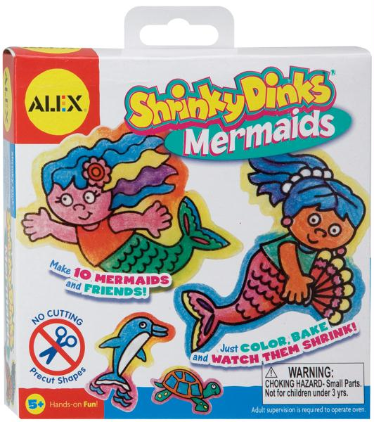 Shrinky Dinks Kit-Mermaids