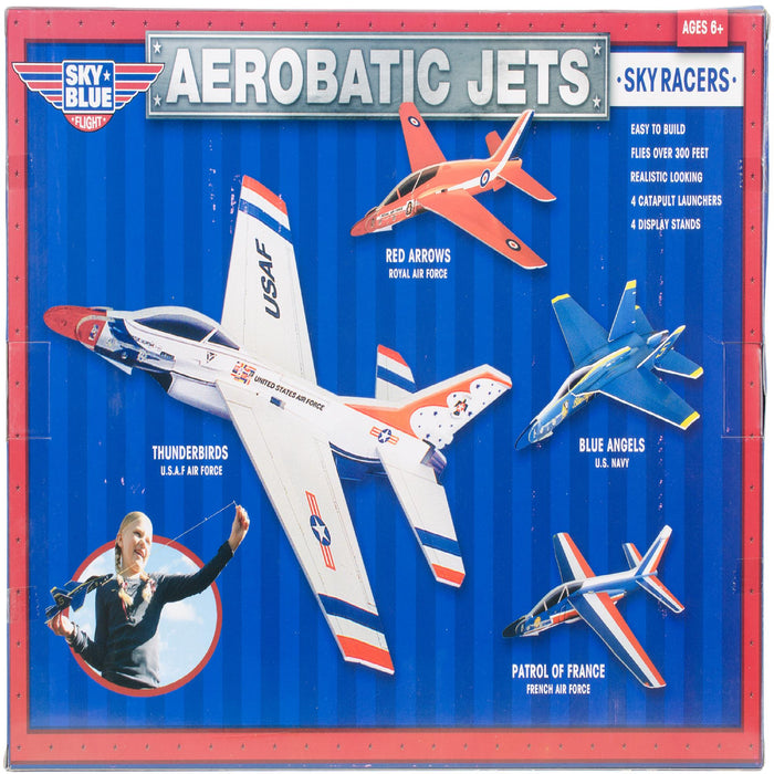 Aerobatic Jets W-Display Stands Kit-