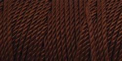 Iris Nylon Crochet Thread Size 2 Chocolate Brown #464