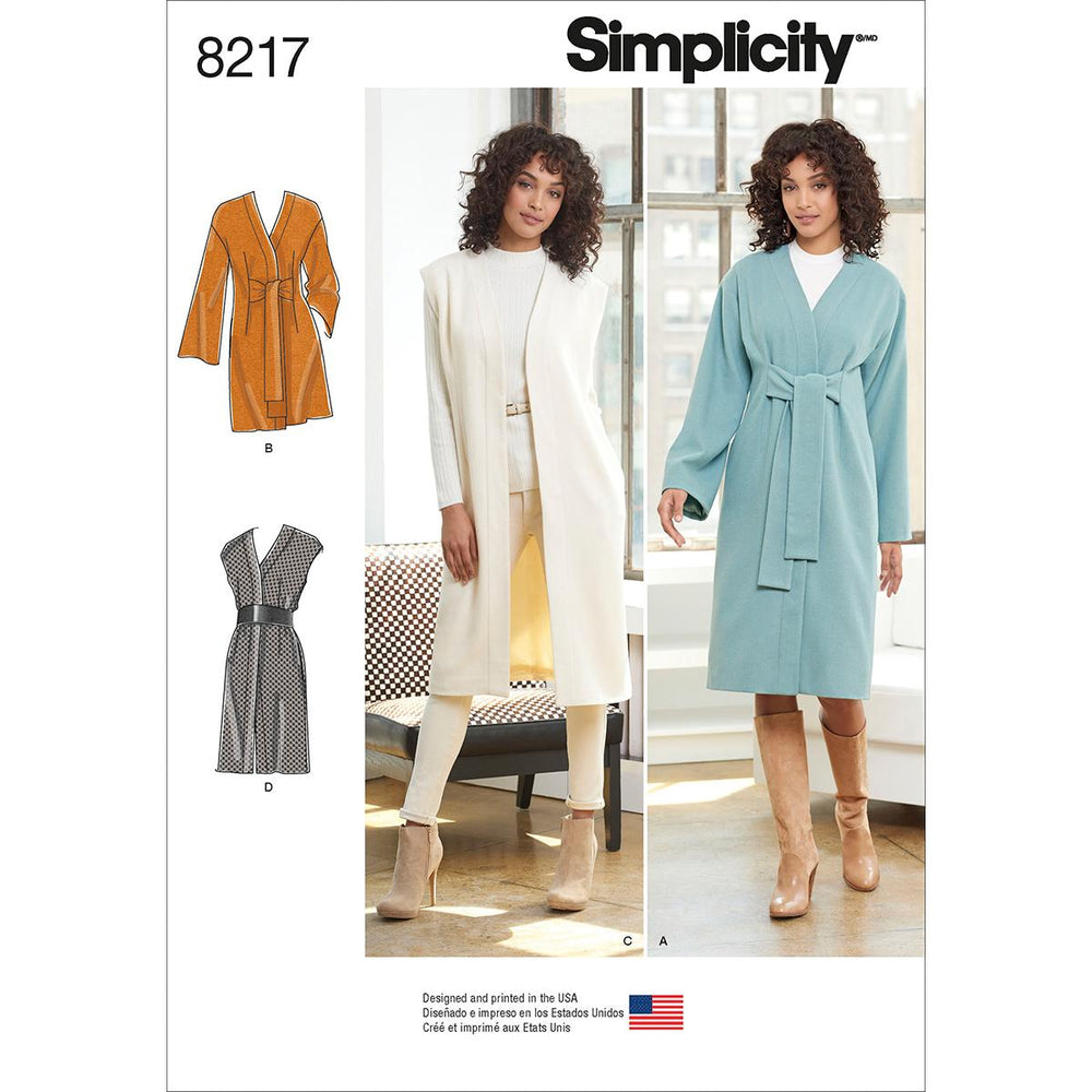 SIMPLICITY MISSES JACKET - COAT-16-18-20-22-24