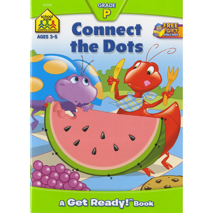 Get Ready! Workbook-Connect The Dots - Ages 3-5