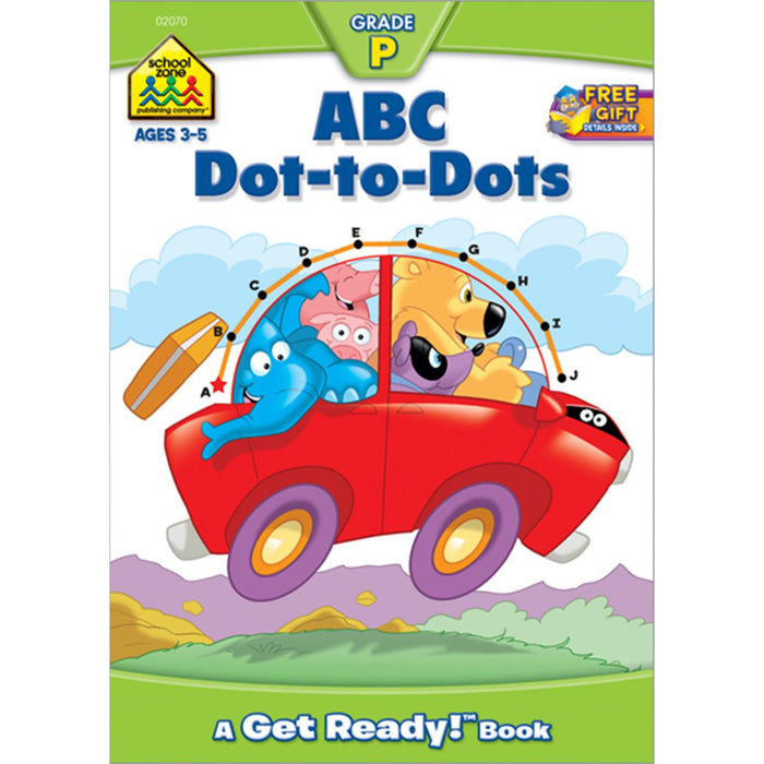Get Ready! Workbook-ABC Dot-To-Dot - Ages 3-5