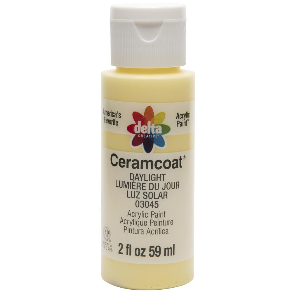 Ceramcoat Acrylic Paint 2oz-Daylight