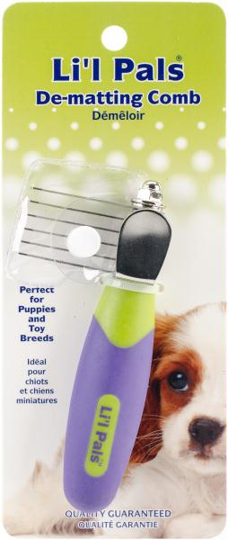 Li'l Pals Dog De-Matting Comb-