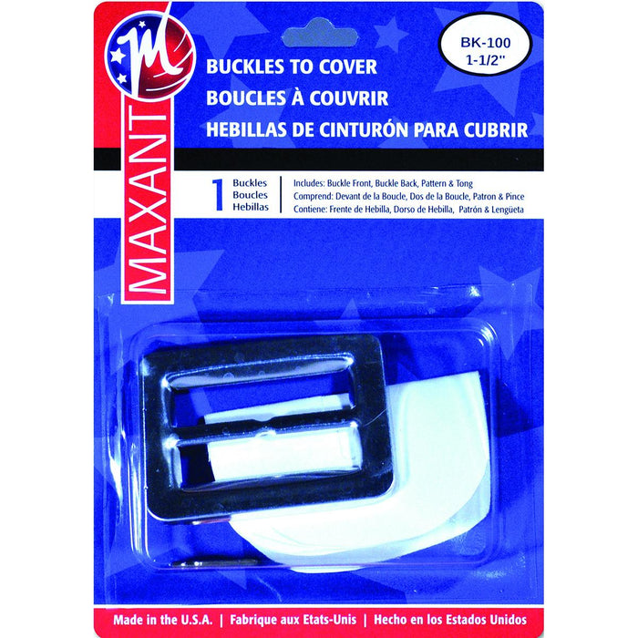 Buckle Cover Kit Rectangle 1.5in