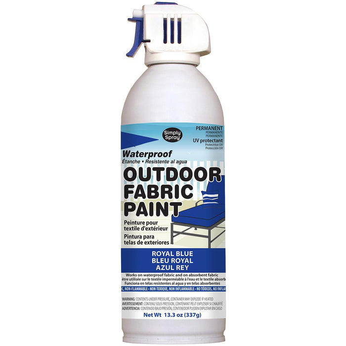 Outdoor Spray Fabric Paint Royal Blue 13.3oz