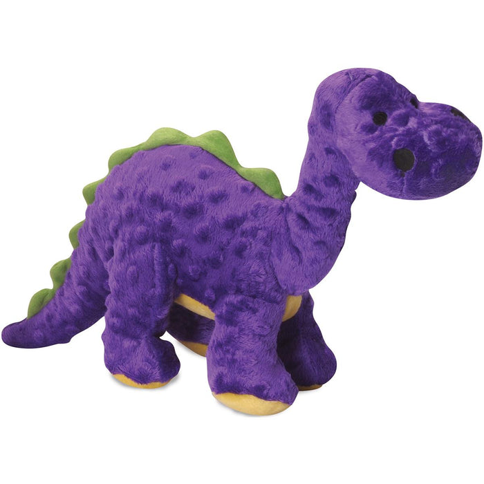 goDog Dinos Bruto with Chew Guard Large-Purple
