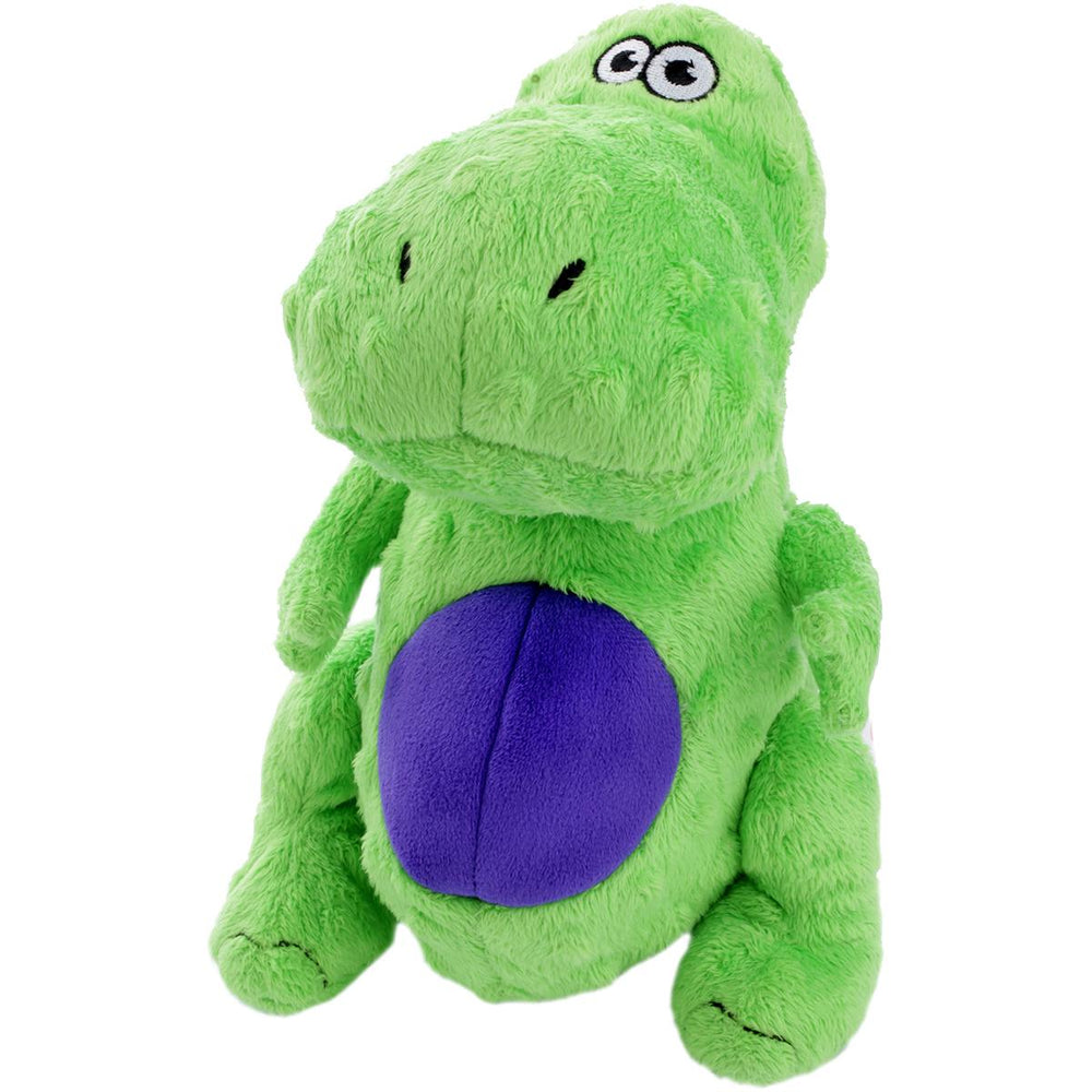 goDog Dinos T-Rex with Chew Guard Large-Green