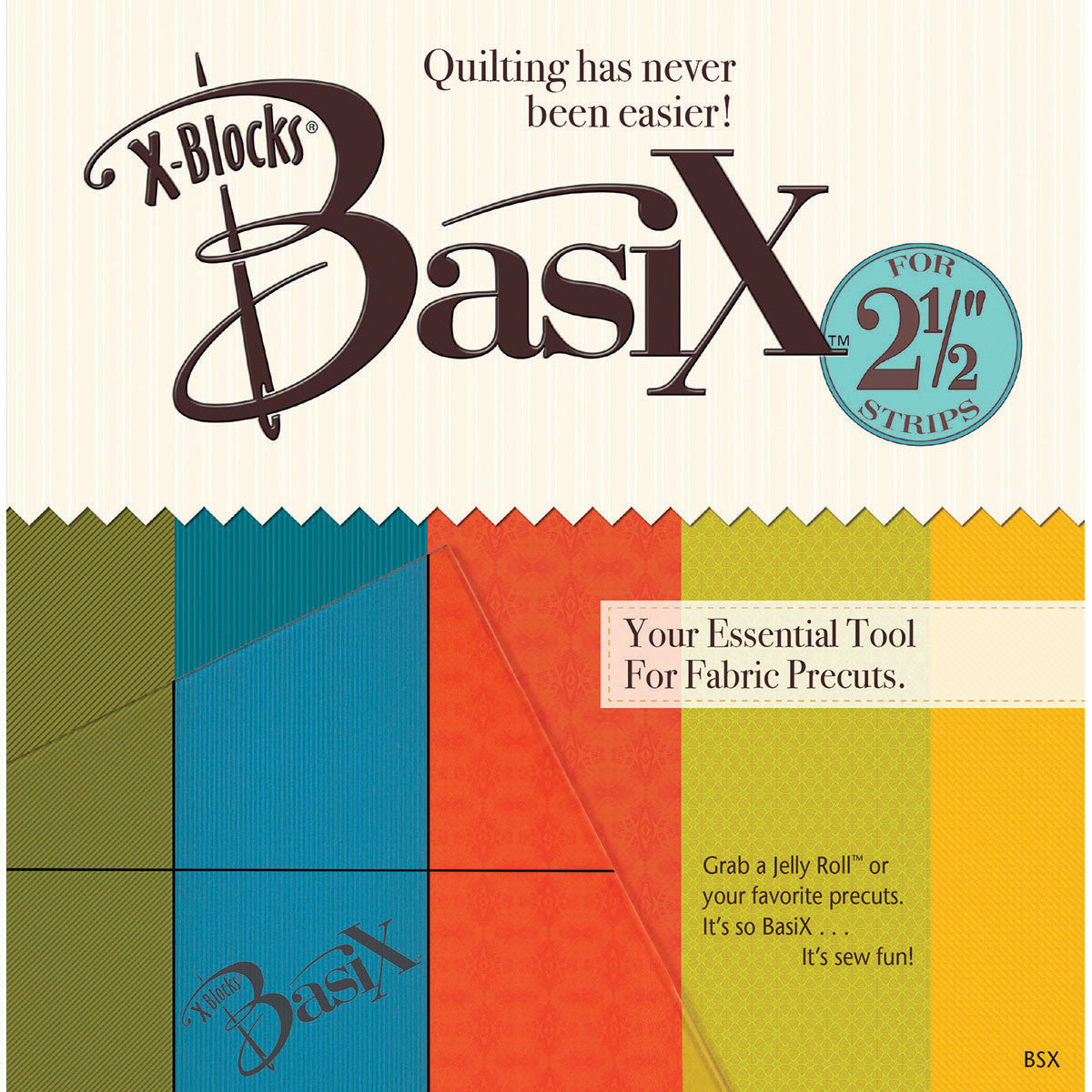 basix by x blocks template quilting warehouse. Black Bedroom Furniture Sets. Home Design Ideas