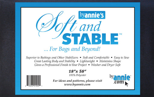 ByAnnie's Soft And Stable Black 18in x 58in