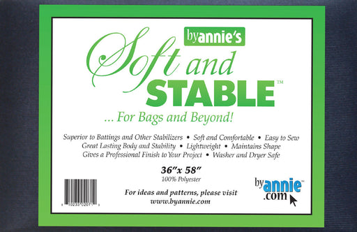 ByAnnie's Soft And Stable Black 36in x 58in