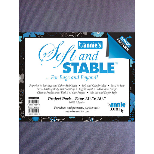 ByAnnie's Soft And Stable Project Pack White 13.5in x 18.5in