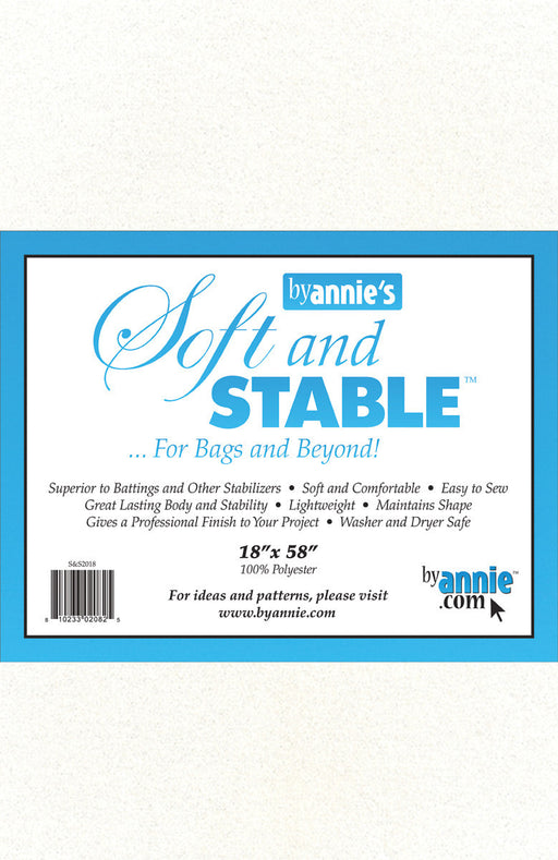 ByAnnie's Soft And Stable White 18in x 58in
