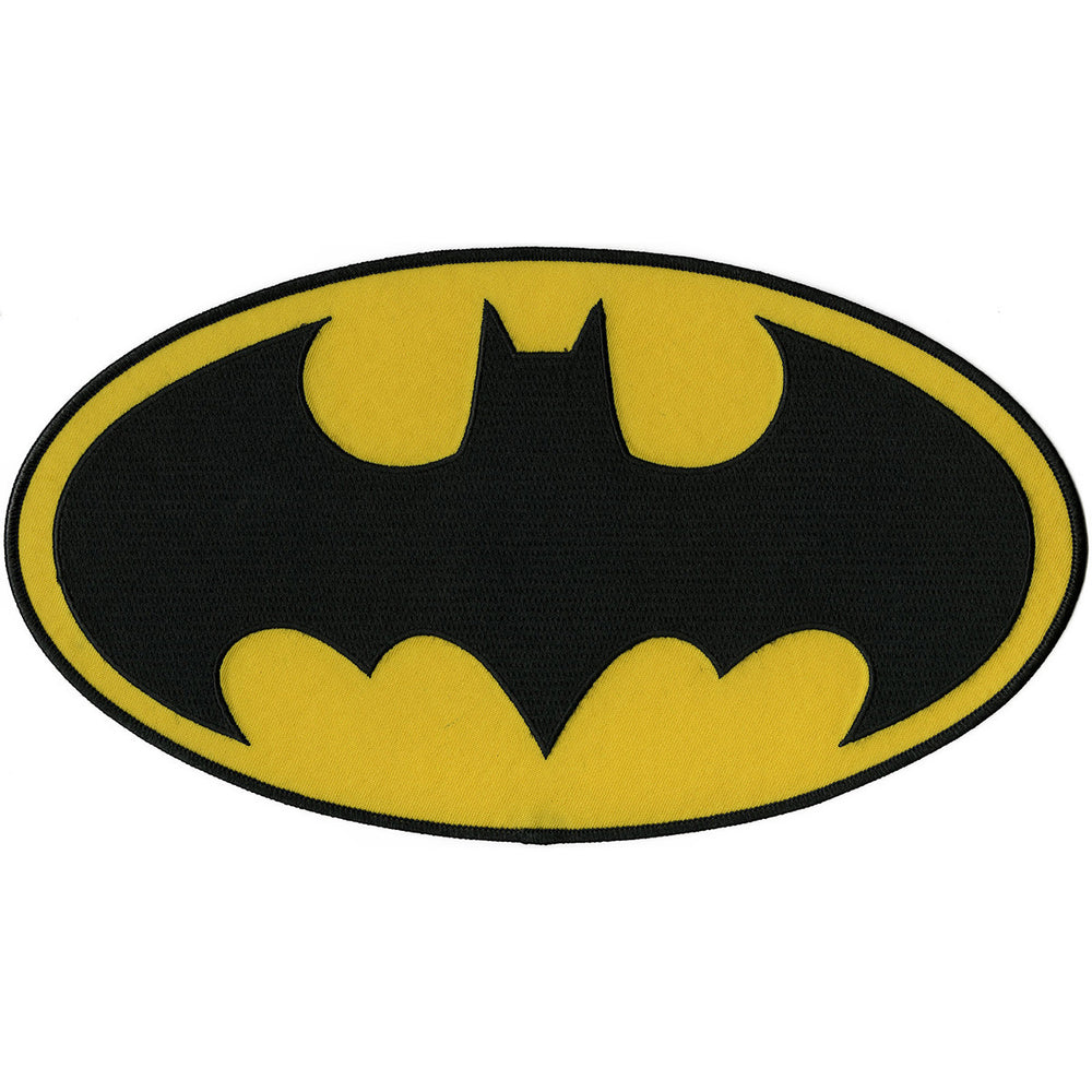 DC Comics Patch Batman Insignia 10.5inX6in