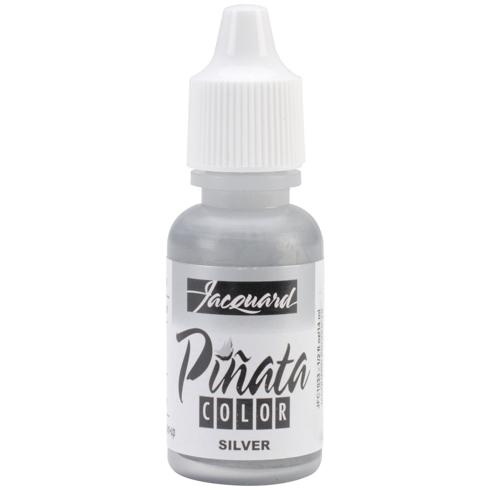 Jacquard Pinata Color Alcohol Inks Silver 1/2oz