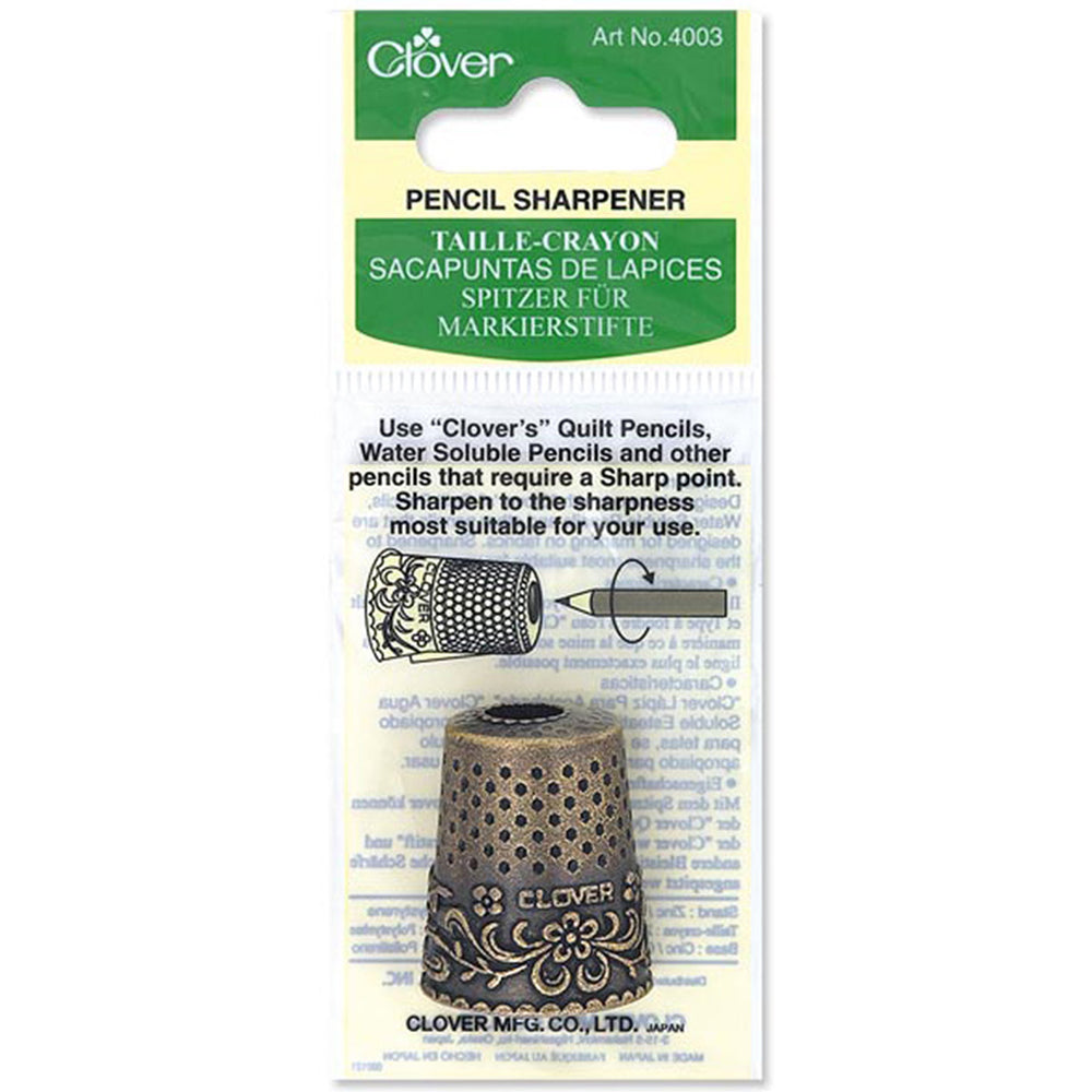 Novelty Thimble Pencil Sharpener