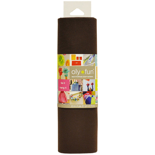 Oly Fun Multi-Purpose Craft Material Hot Fudge 20in x 3yds