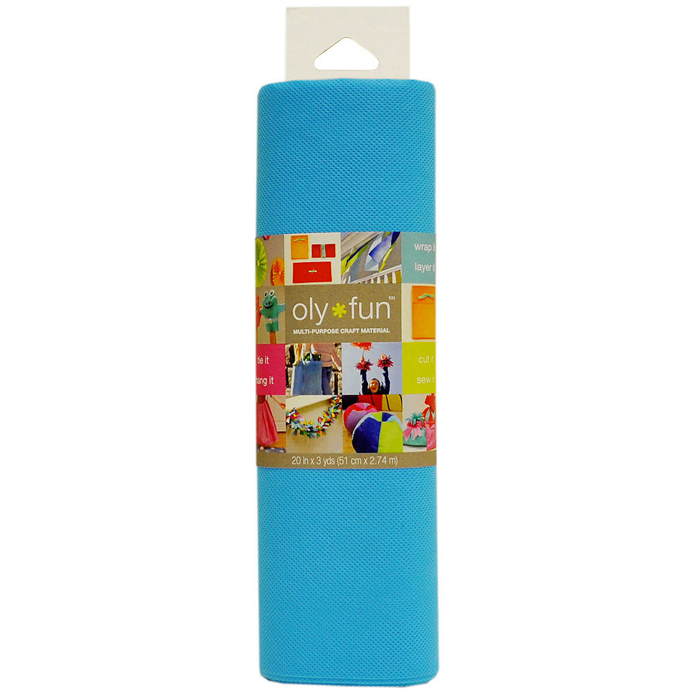 Oly Fun Multi-Purpose Craft Material Sky Blue 20in x 3yds