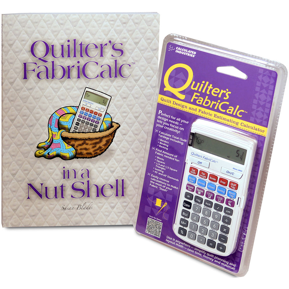 Quilter's FabriCalc Plus Companion Workbook Bundle