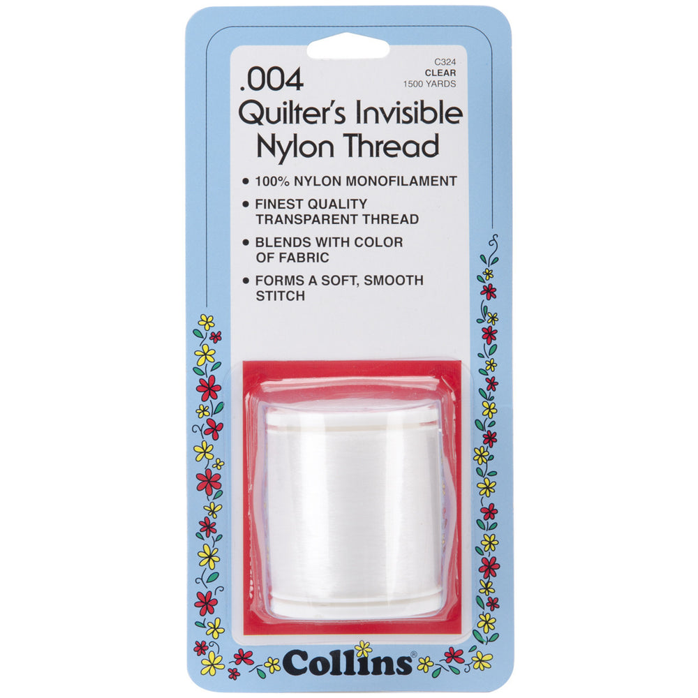 Quilter's Invisible Nylon Thread Clear