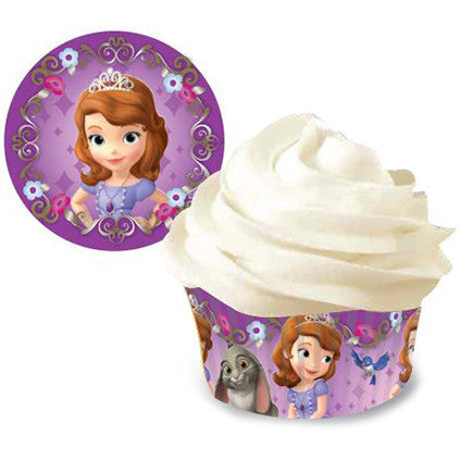 Standard Baking Cups Sofia The First 50/Pkg