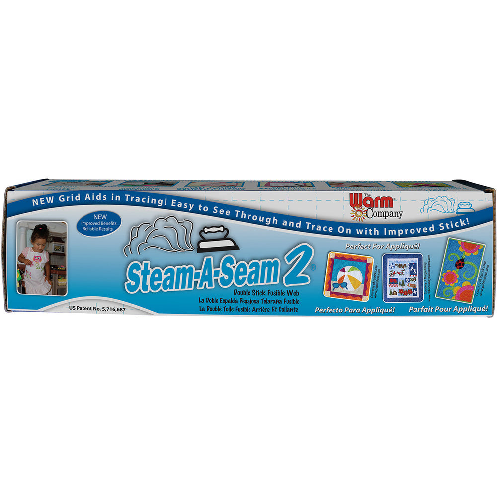 Steam-A-Seam 2 Double Stick Fusible Web 18inX25yds