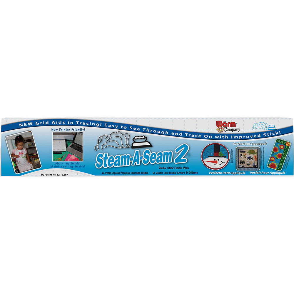 Steam-A-Seam 2 Double Stick Fusible Web 24inX25yds
