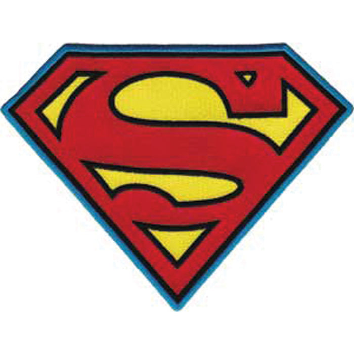 DC Comics Super Hero Patches Superman Insignia