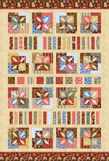 Swiss Chocolate Quilt Pattern
