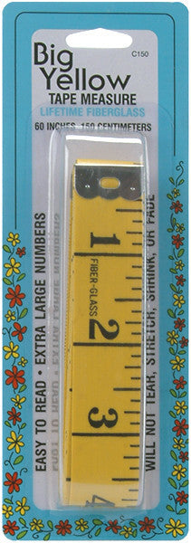 Tape Measure Yellow 60in.