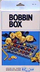 Discount Sewing Supplies Notions - Bobbin Box 6inx3.75inx1.25in