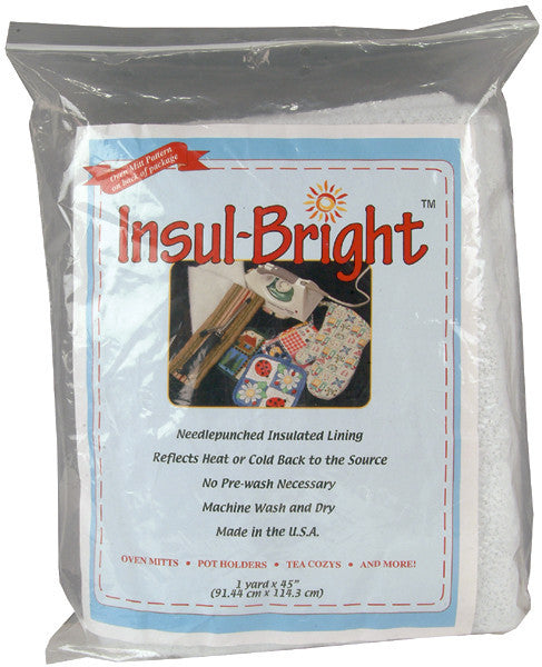 Insul-Bright Needlepunched Insulated Lining White