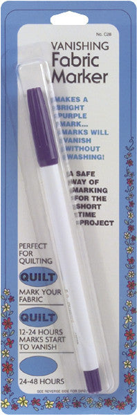 Vanishing Fabric Marker Purple