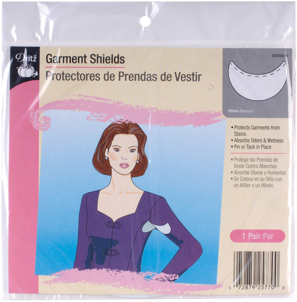 Garment Shields White