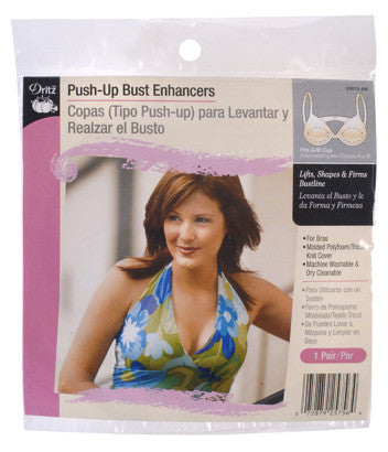 Push-Up Bust Enhancers Fits A/B Cup