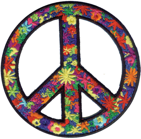 Peace & Love Iron-On Patches